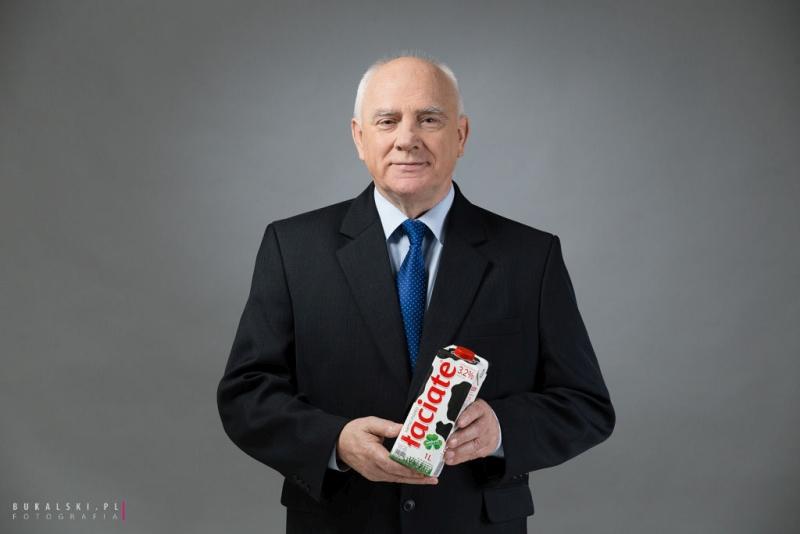 MLEKPOL_Prezes Edmund Borawski