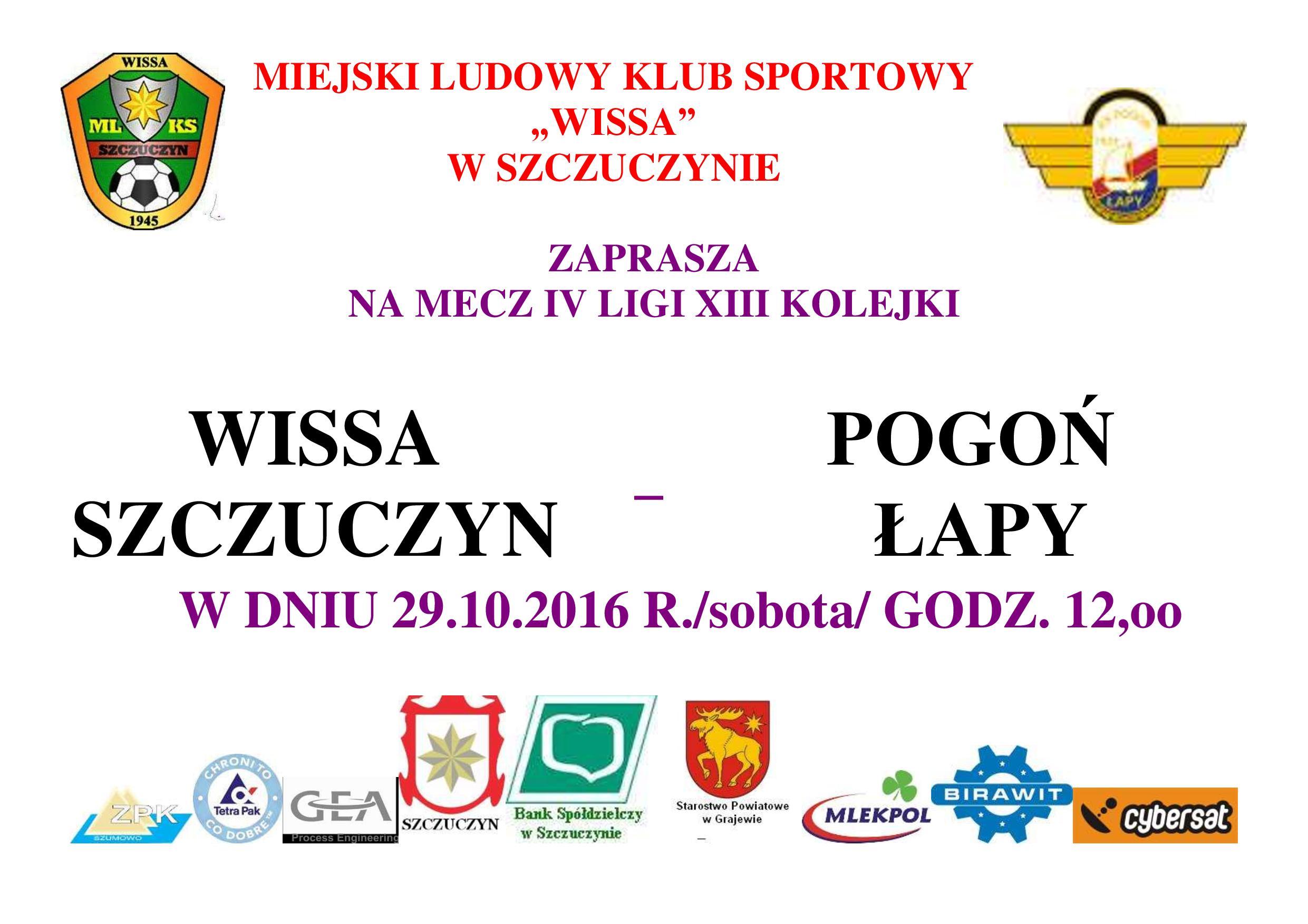 plakat-2016-iv-liga-seniorzy-wissa-pogon