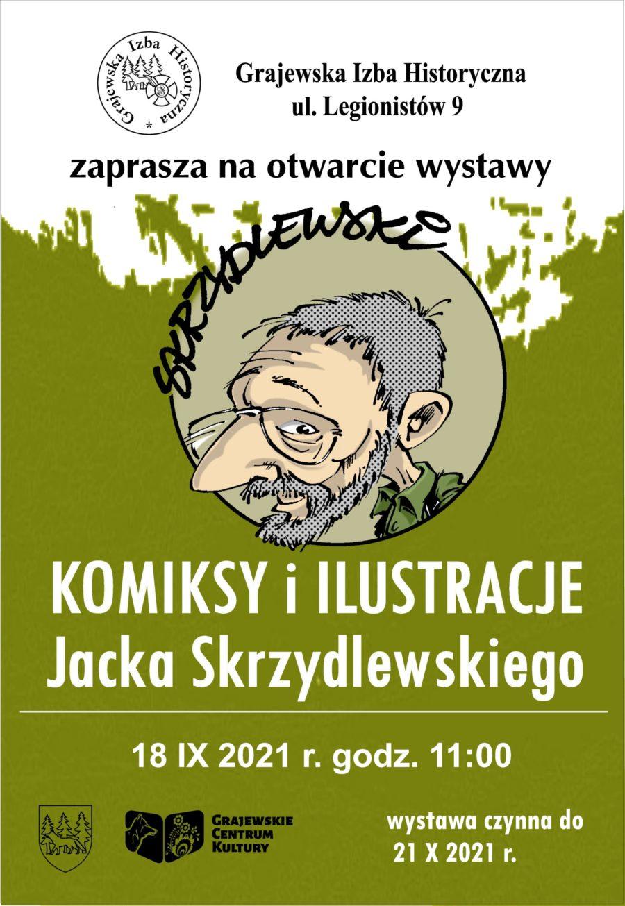 Plakat-otwarcie-wystawy-Jacka-Skrzydlewskiego-scaled-e1631262962127